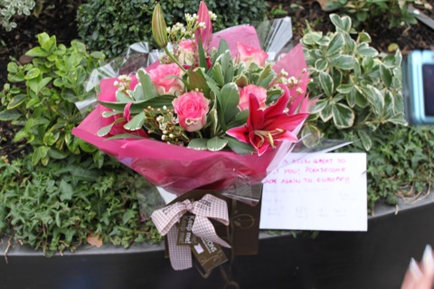 Our flower bouquet for Ayu
