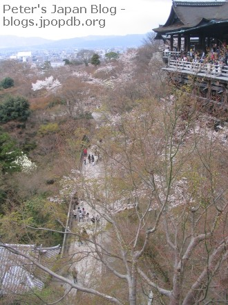 Magnificent view from Kiyamizudera