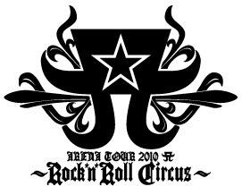 Arena Tour 2010 Logo Rock'n'Roll Circus