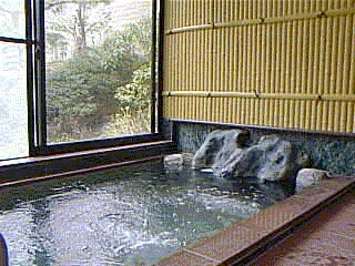 indoor Japanese Onsen