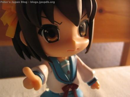 Suzumiya Haruhi Nendoroid mad close-up