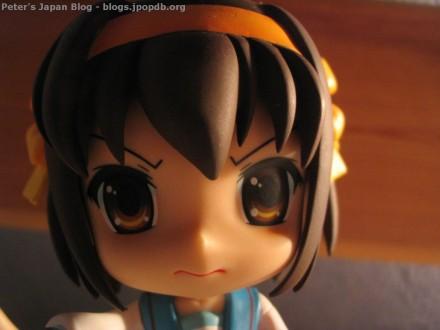 Suzumiya Haruhi Nendoroid mad extreme close-up