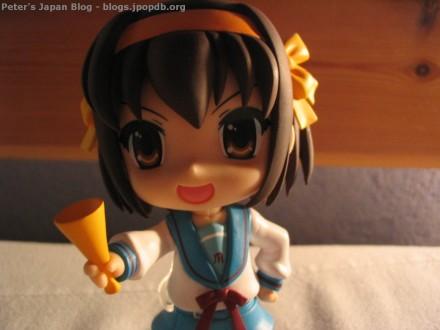 Suzumiya Haruhi Nendoroid close-up