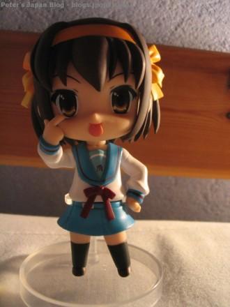 Suzumiya Haruhi Nendoroid tongue