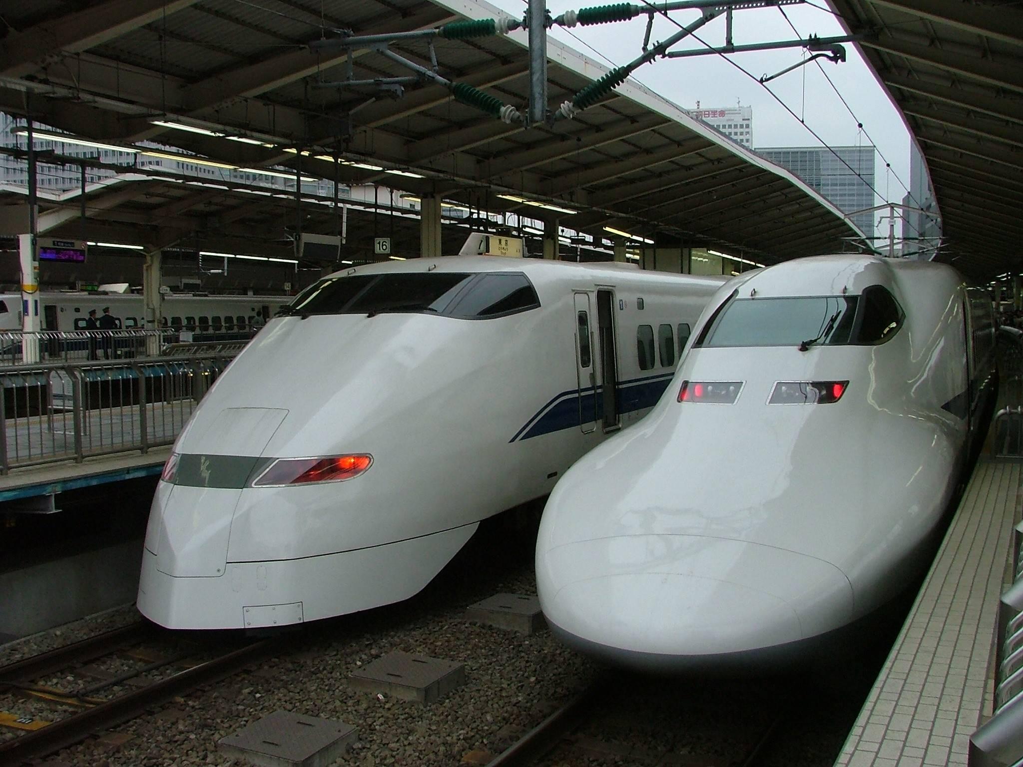 Le shinkansen, le « tgv » japonais